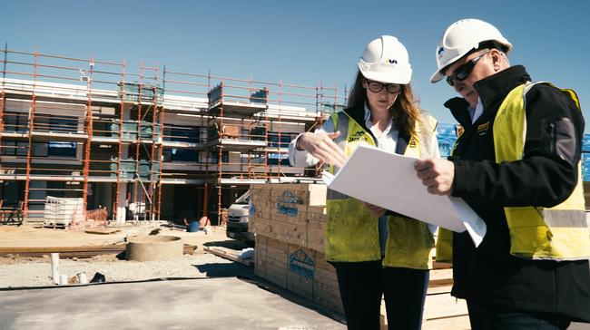 Mirvac are building a house at 12 Monterey Drive, Cheltenham, to be home to a family for one year for free
