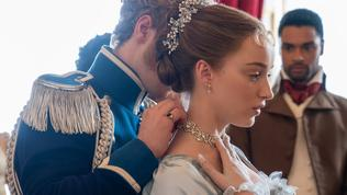 He is the Prince Friedrich of Prussia in the period show. Picture: Netflix
