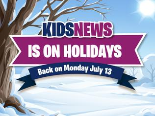 Kids News is on holidays!
