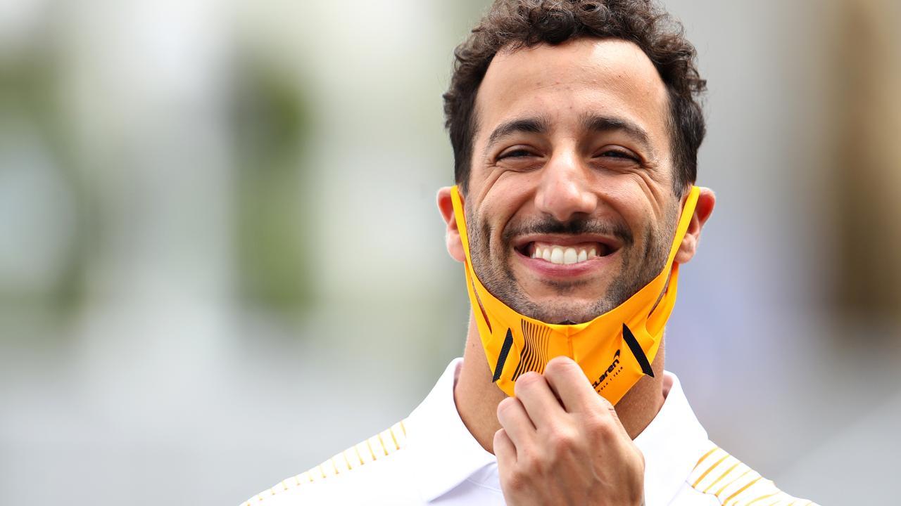 Daniel Ricciardo had reason to smile in France.