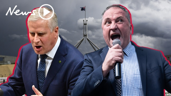 Nationals leadership: Barnaby Joyce's failed bid to oust Michael McCormack