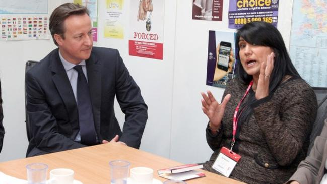Jasvinder Sanghera sits down to a meeting. Picture: Supplied.