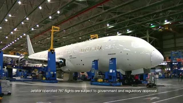 Jetstar's 787 Dreamliner