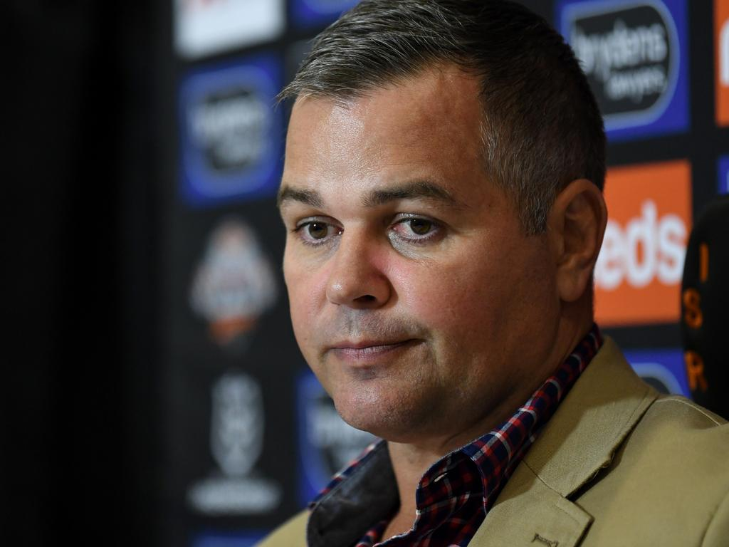 It was a tough day at the office yesterday for Seibold.