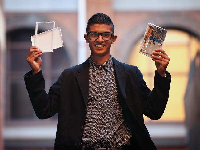 Taj Pabari has founded a company to sell kits he developed to enable children to assemble their own Android tablets.