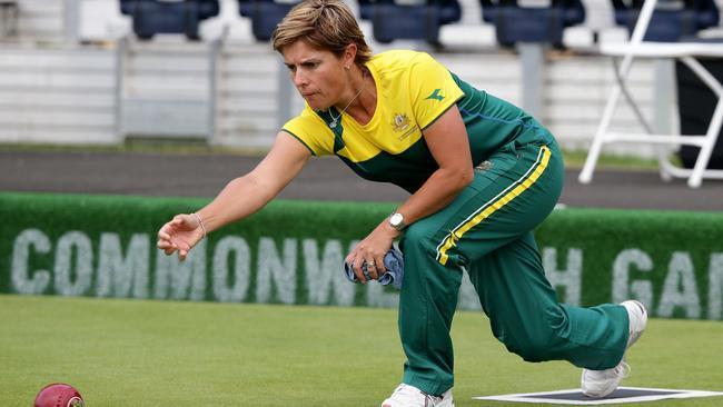 Karen Murphy won silver at her fourth Commonwealth Games.