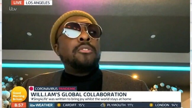 Piers Morgan and will.i.am clash (Good Morning Britain)