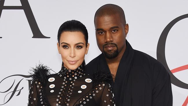 Kim Kardashian has opened up about the moment she fell in love with Kanye West. Photo: Dimitrios Kambouris/Getty Images