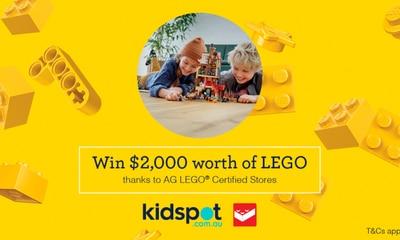 Win $2,000 worth of LEGO