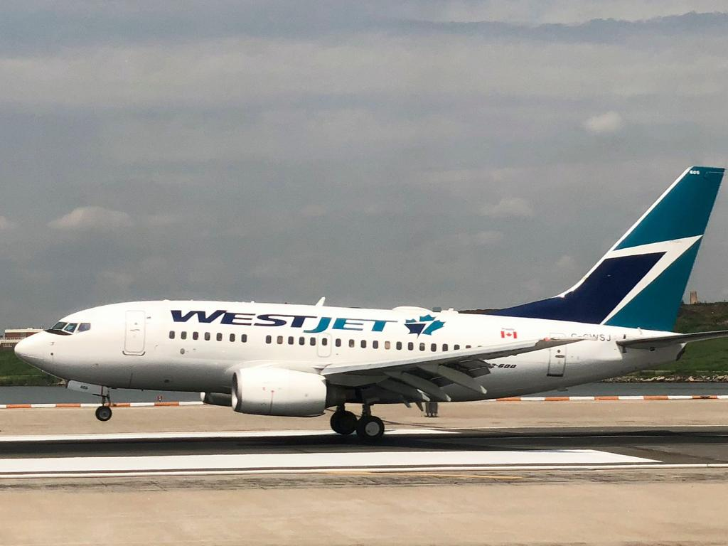 The WestJet flight to Montego Bay was diverted to Toronto 'due to an unruly guest', the airline said. Picture: Daniel Slim/AFP