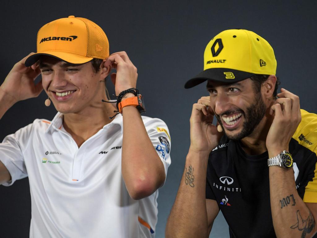 Ricciardo and Norris together will be fun.
