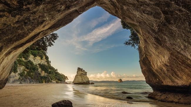 VISIT CATHEDRAL COVE, COROMANDEL Sure, embarking on the spectacular two-hour return coastal walk into Cathedral Cove is a must-do but to really explore this breathtaking coastline, consider kayaking. You can guided scenic adventure kayaking tour or if you'd prefer to experience the underwater world, consider booking a local guided dive tour.