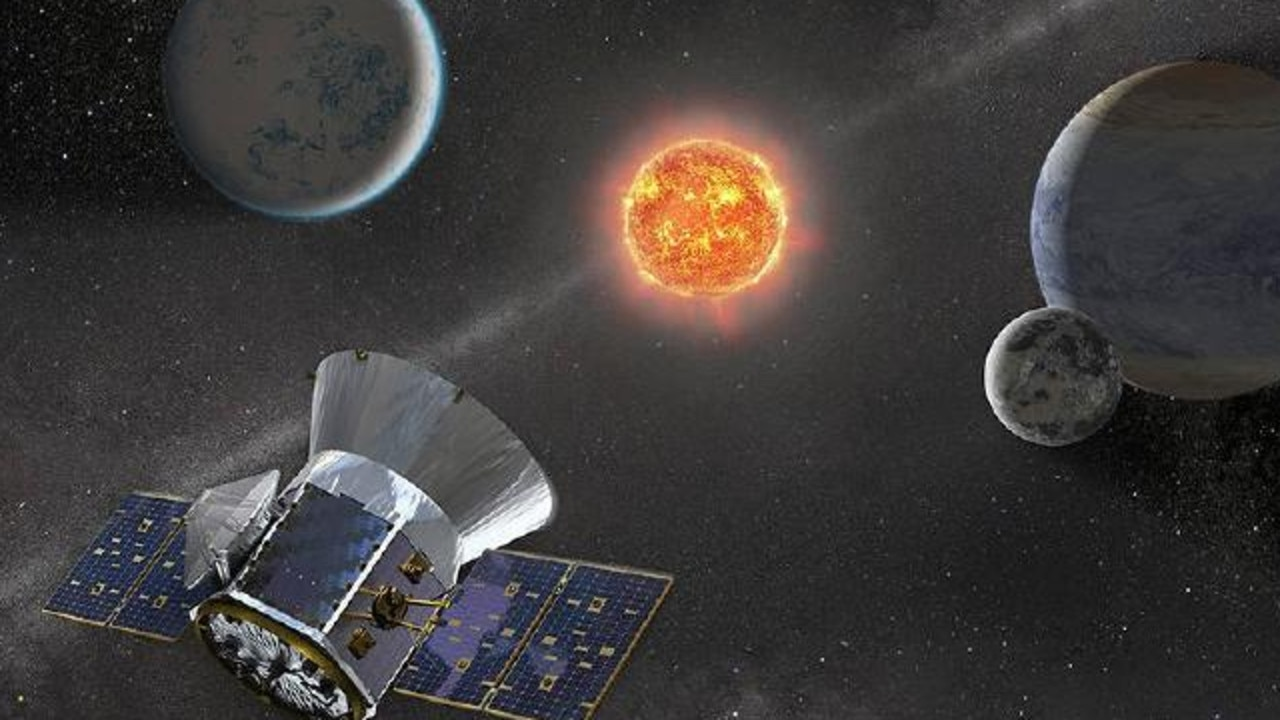 NASA's planet-hunting satellite TESS helped discover a 'super-Earth' called GJ 357 d. Picture: NASA