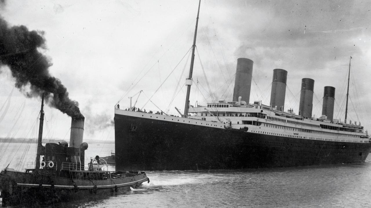 "TO GO WITH AFP STORY BY GUY JACKSON A handout picture received from Southampton City Council on 04 Apr 2012 shows the Titanic leaving Southampton on her ill-fated maiden voyage on 10 Apr 1912. Nowhere suffered as much from the sinking of the Titanic as Southampton and a century after the disaster the city wants to tell the largely forgotten story of its 549 residents who died. RESTRICTED TO EDITORIAL USE - MANDATORY CREDIT "" AFP PHOTO / SOUTHAMPTON CITY COUNCIL "" - NO MARKETING NO ADVERTISING CAMPAIGNS - DISTRIBUTED AS A SERVICE TO CLIENTS"