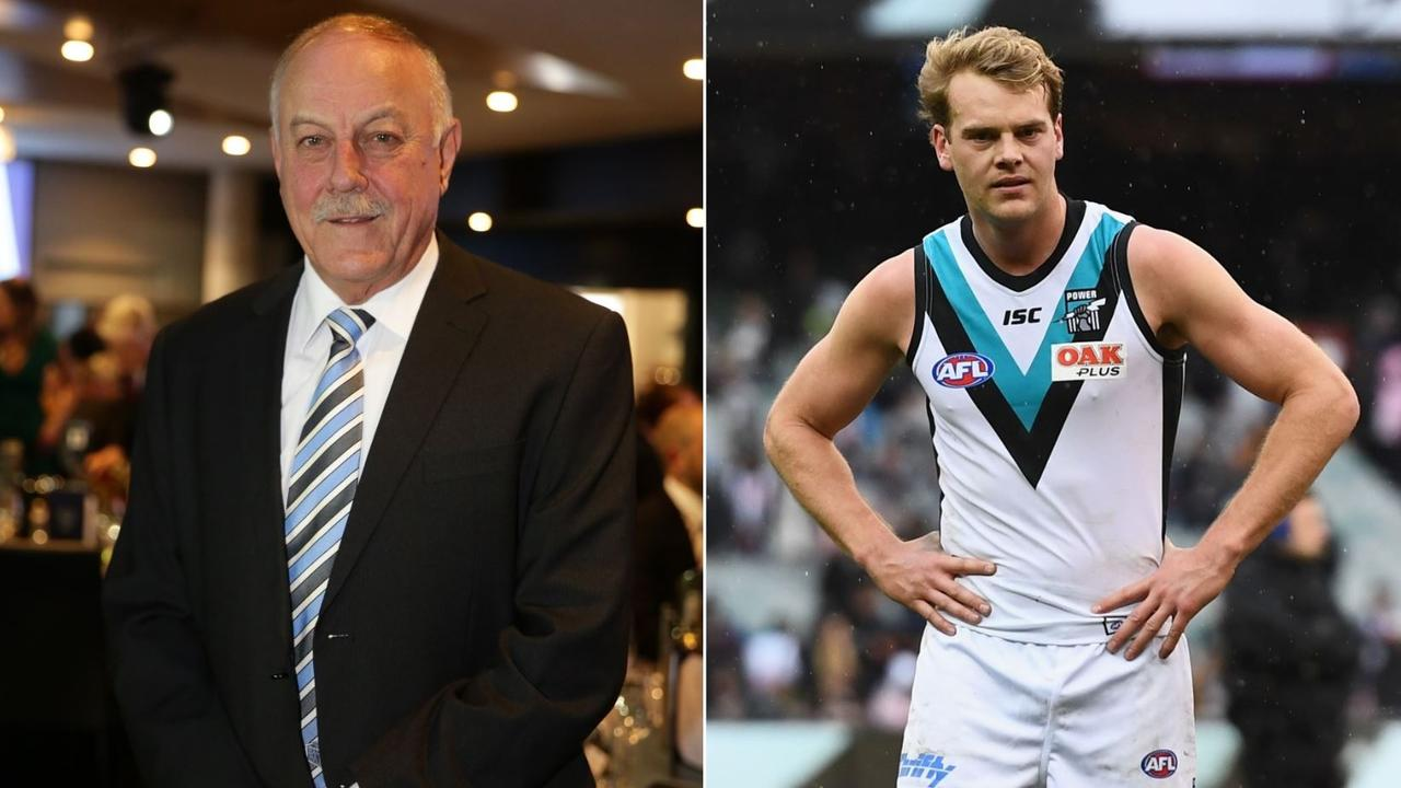 Malcolm Blight had some pointed words for Jack Watts.
