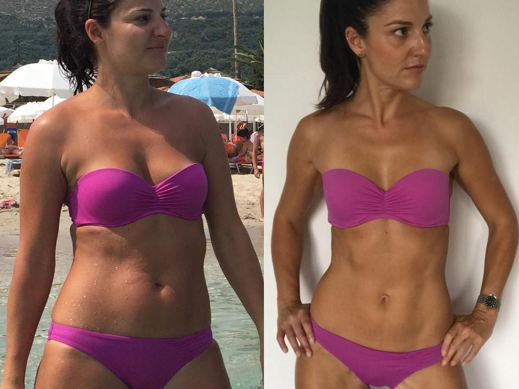Joanne used intermittent fasting to achieve her goal. Pictures: Instagram