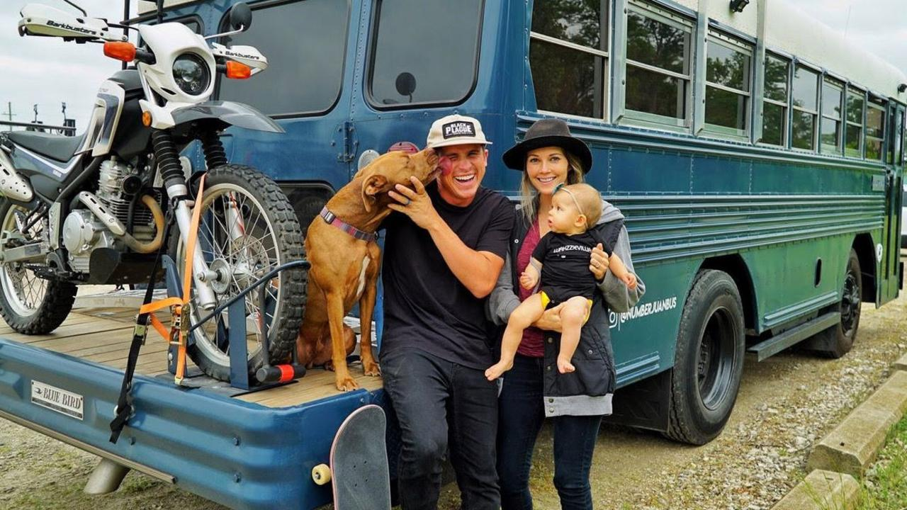 The couple have spent the last six months enjoying their mobile home. Picture: MDW Features/Australscope