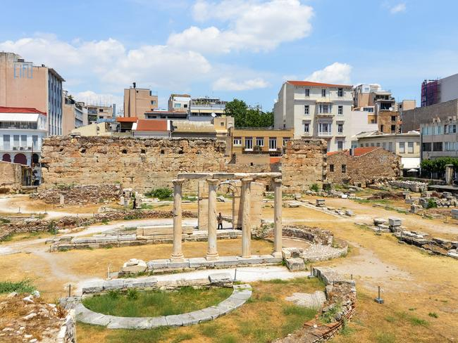 AGORA: The ancient Agora was the gathering place and the centre of Athens for about 5000 years. Picture: iStock