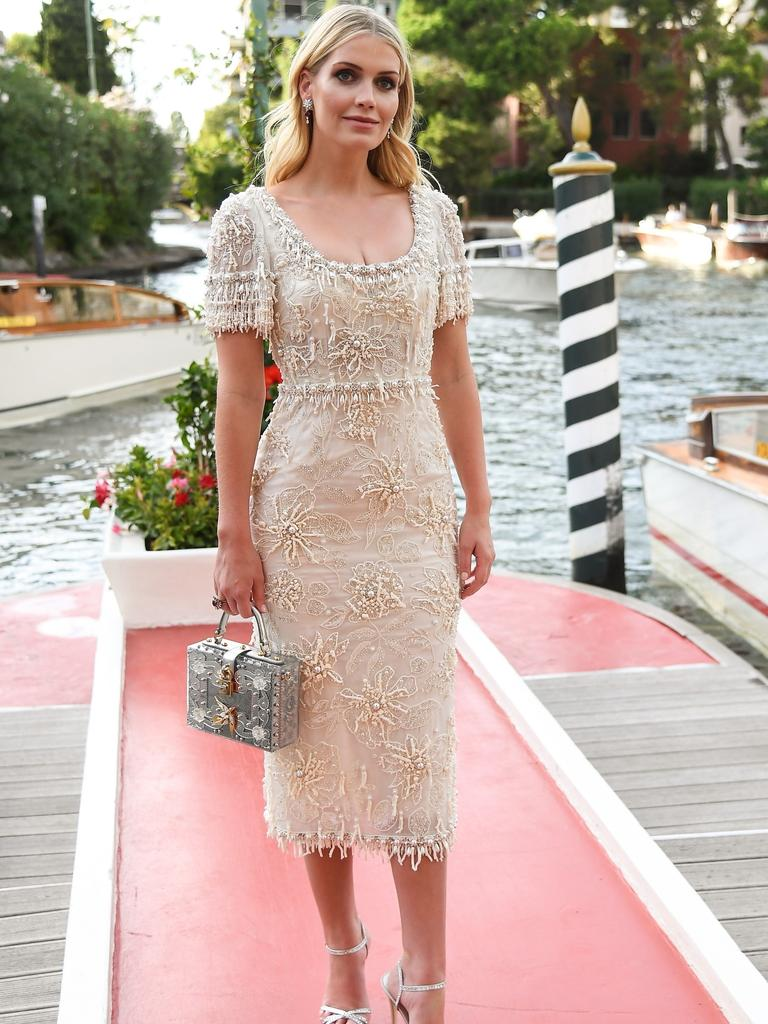 Lady Kitty Spencer has modelled for Dolce & Gabbana in the past. Picture: VR/Backgrid