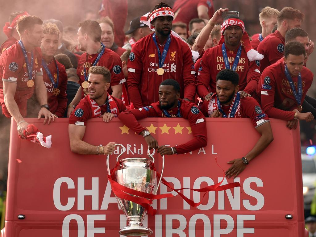 Liverpool are the kings of Europe.