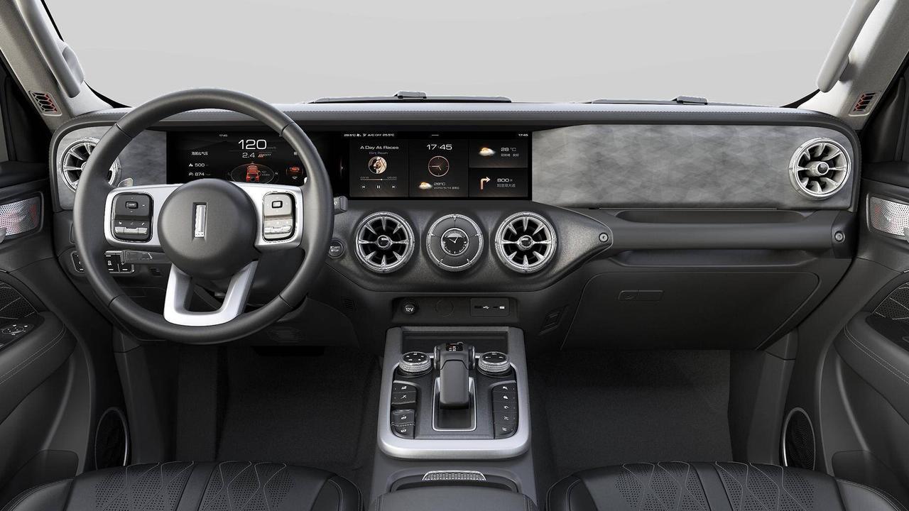 Inside the Mercedes-inspired GWM Tank 300.