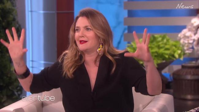 Drew Barrymore admits to using dating apps