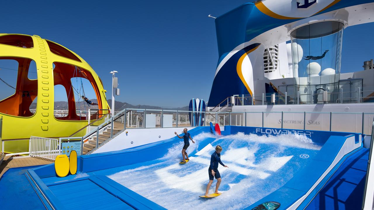 Royal Caribbean CEO says 100,000 people have volunteered for trial cruises. Picture: Royal Caribbean