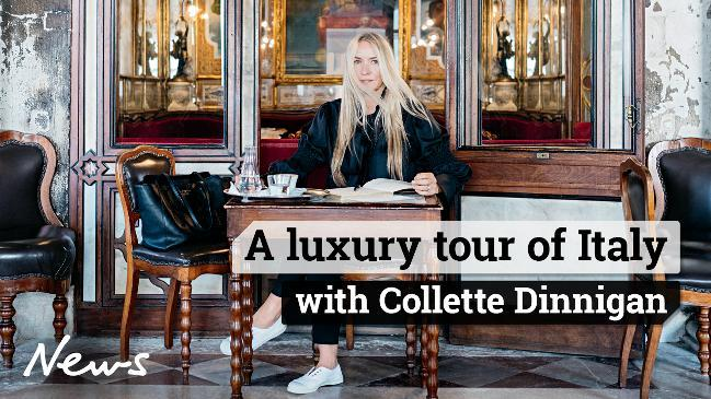 A luxury tour of Italy with Collette Dinnigan