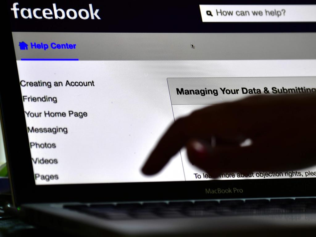 The latest Facebook data hack is under investigation by the FBI who has asked the tech giant not to reveal the identity of the hackers. Picture: AFP Photo/Tobias Schwartz