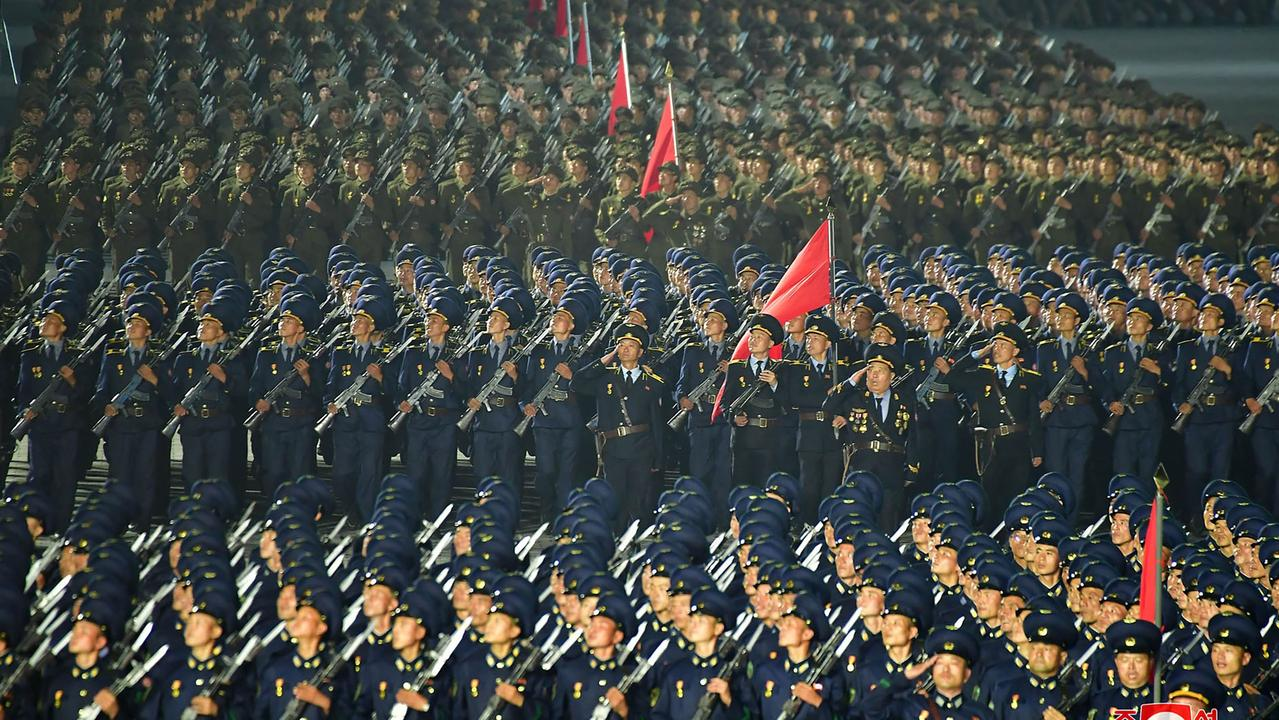 North Korea's military manoeuvres have once again sparked alarm in the West. Picture: KCNA