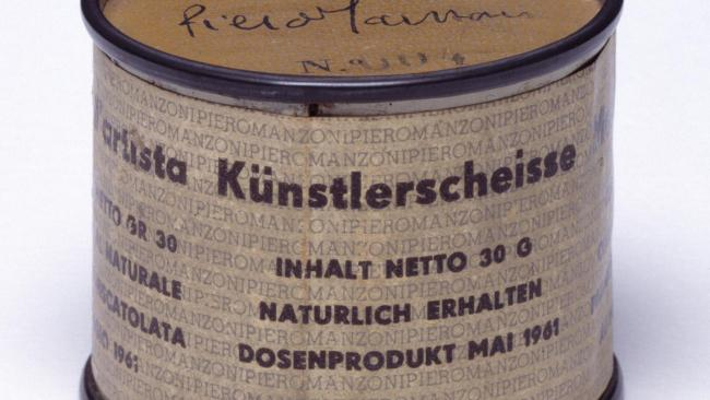"""10/10Can do(odoo) Piero Manzini's most famous project is arguably the 90 cans he produced. Each was numbered on the lid 001 to 090 and bore a label, printed in Italian, English, French and German, identifying the contents as """"Artist's Shit, contents 30gr net freshly preserved, produced and tinned in May 1961.""""In 2000, the Tate in London purchased number 4 of the number 2 for approximately $40,000 in today's money.See also:10 weird and wacky events at this year's Dark Mofo  World's weirdest museums you have to see to believe"""
