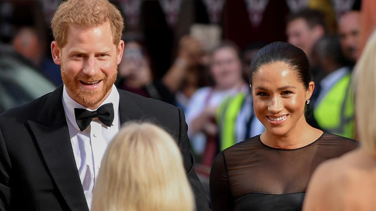 Prince Harry and Meghan Markle have signed a multimillion-dollar deal with the streaming service the palace is currently fighting. Picture: Gareth Cattermole/Getty Images for Disney.