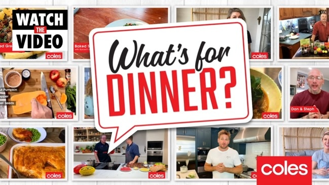 Coles' What's for Dinner segments