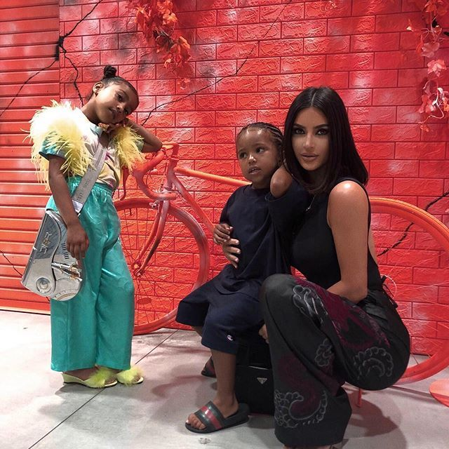 North West wore a $51,426 Dior bag while on holiday in Japan