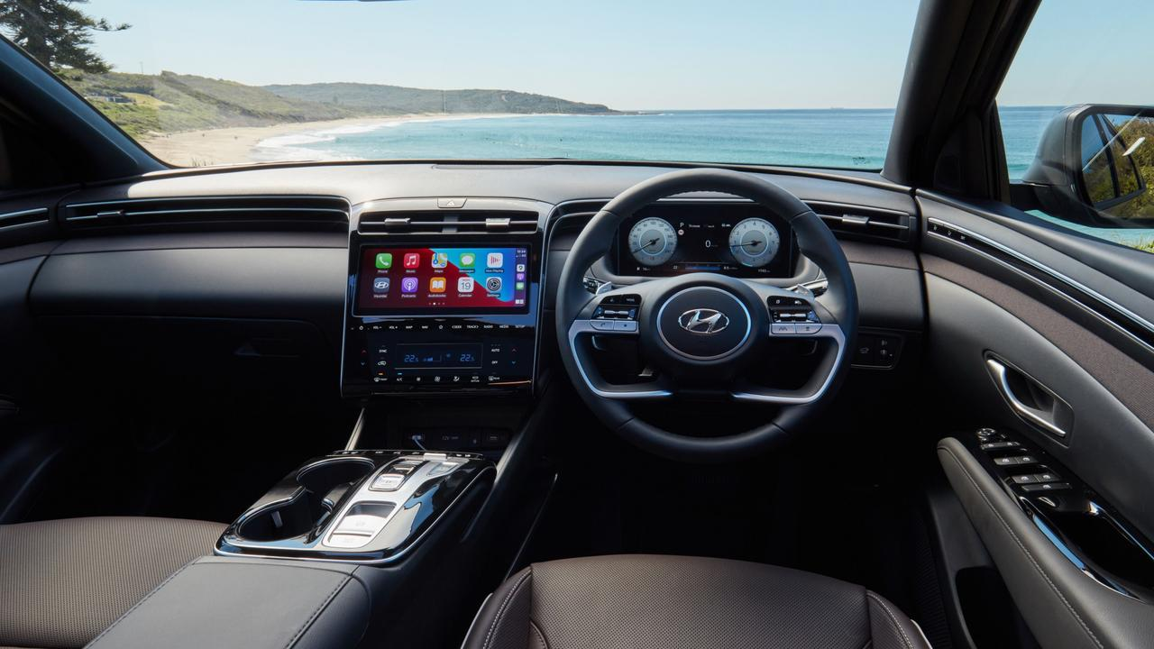 Hyundai has added plenty of hi-tech features to the Tucson.