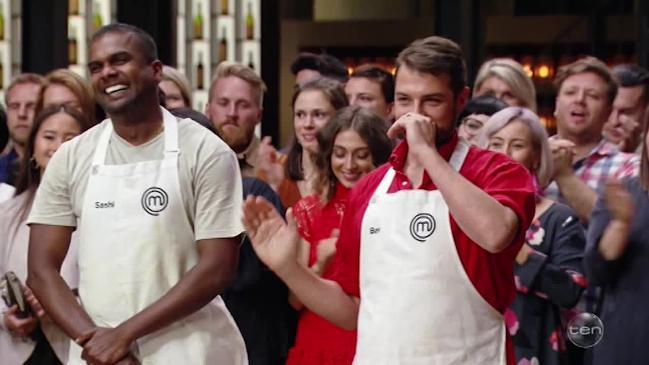 Ben and Sashi have made it through to the Masterchef Grand Final for 2018