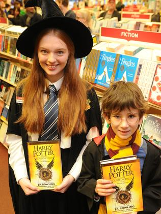 Queues of fans in fancy dress will line up for the 9.01am release of the new Harry Potter book