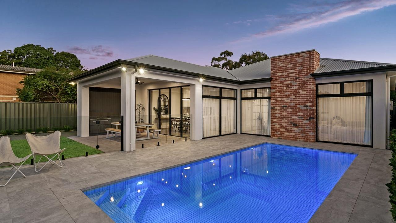The pool offers the perfect spot to kick back and relax in summer. Pic: realestate.com.au
