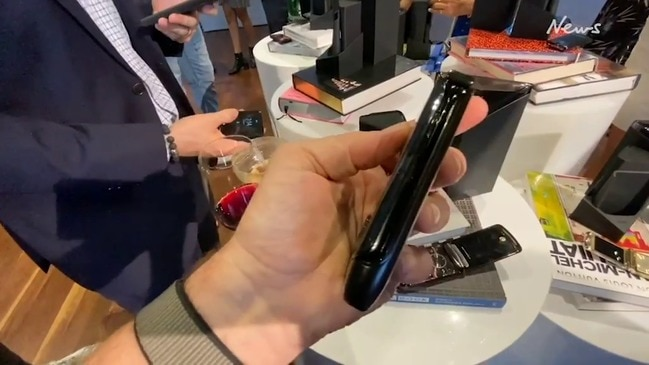 Motorola RAZR with foldable screen