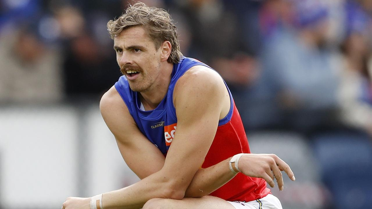 Joe Daniher of the Lions. Picture: Dylan Burns