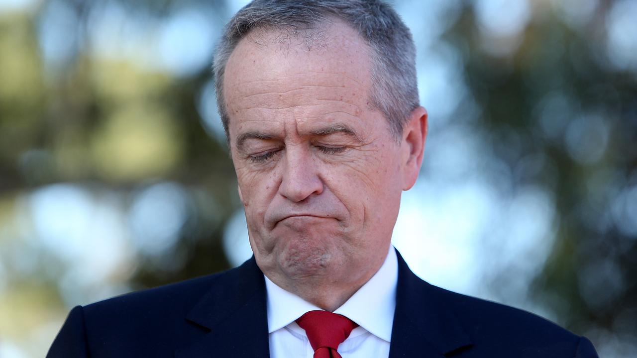 Labor scrutineers told news.com.au older voters have punished the party for its higher-taxing agenda. Picture: Kym Smith
