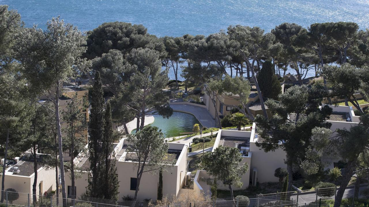 'There are worse places' to be in quarantine than this French holiday resort. Daniel Cole/AP