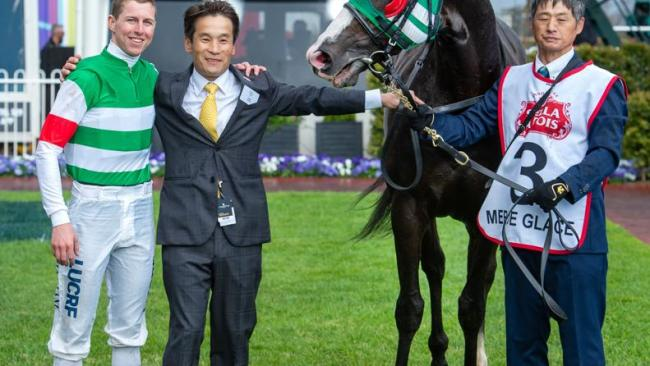 Lane and winning Japanese connections after Mer De Glace's sensational performance.