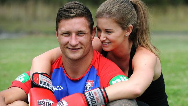 Tariq Sims is Newcastle's star recruit. Picture: Peter Lorimer