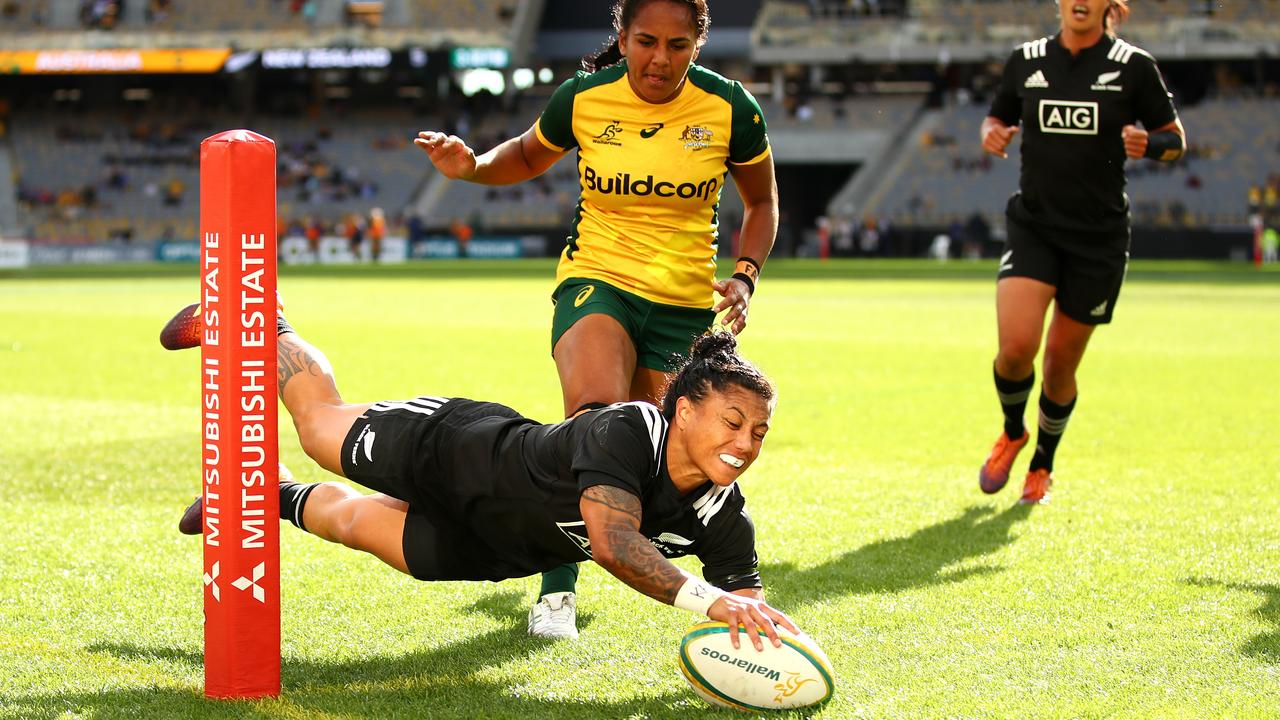 Wallaroos handed reality check by Black Ferns