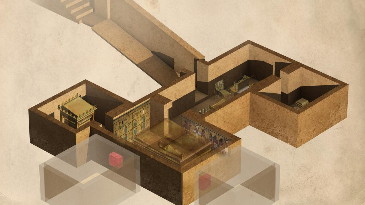 Tutankhamuns tomb, illustration