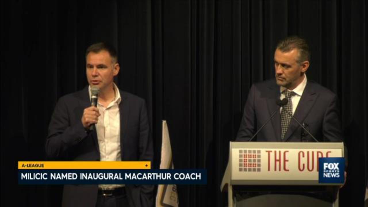 Milicic named Macarthur coach