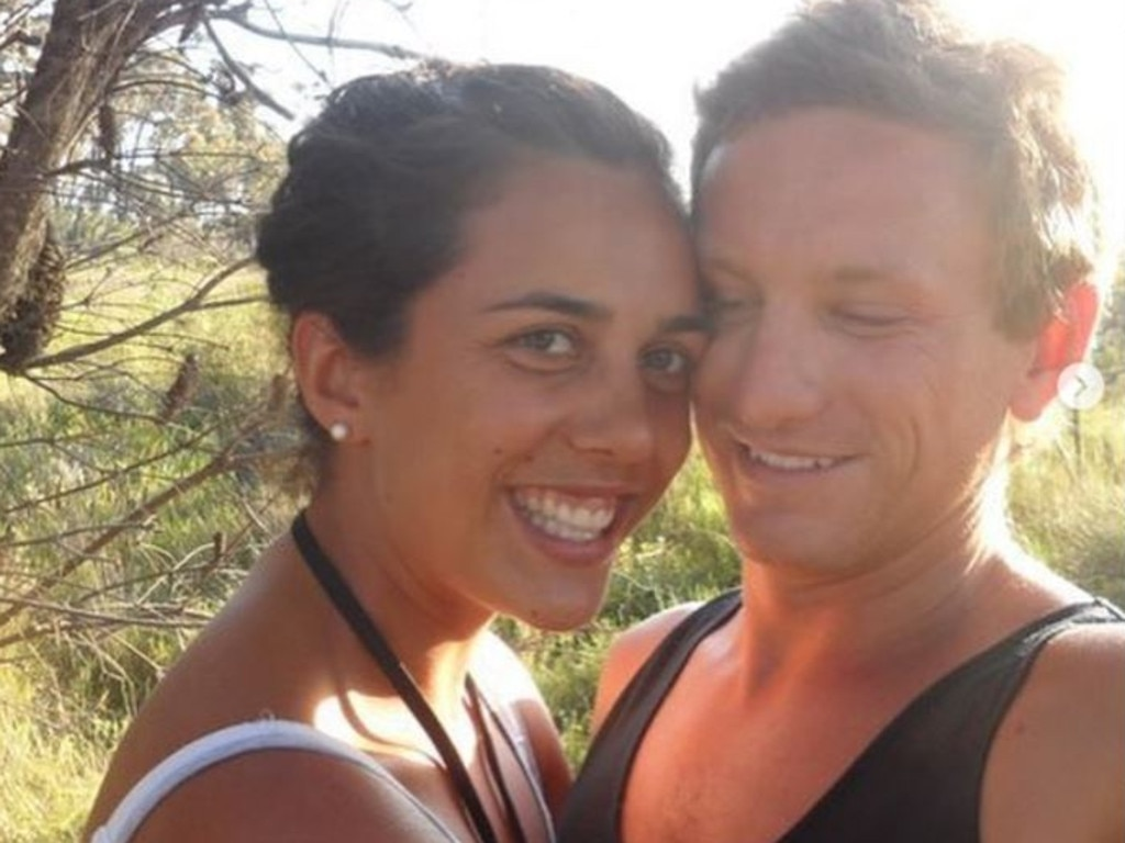 She said she remembered telling herself to think of her husband Michael. Picture: Supplied