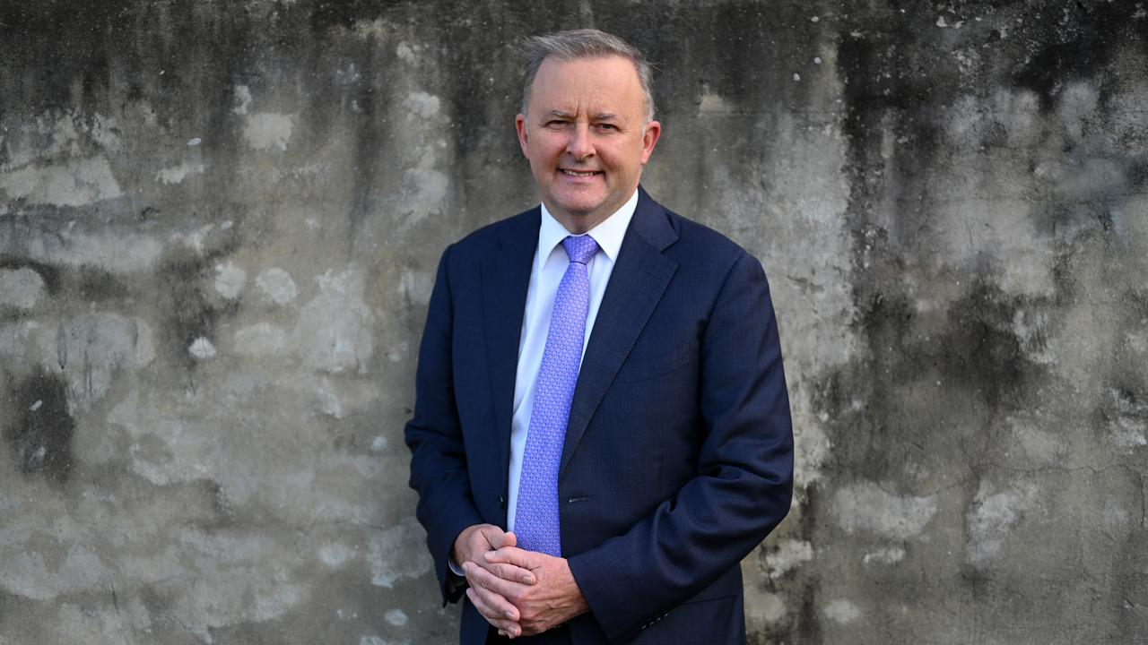 Mr Albanese looks almost certain to take Labor's top job. Picture: AAP Image/Dean Lewins