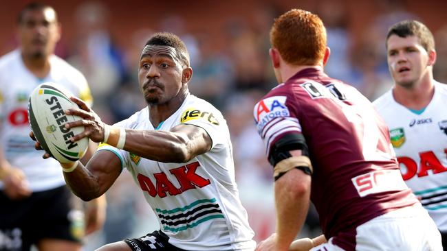 James Segeyaro says he is yet to score a 10 from his coach Ivan Cleary. Picture Gregg Porteous